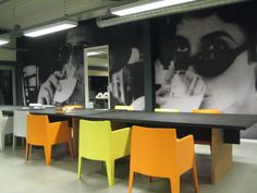 MOORLAND4 Wall Graphics lounge area
