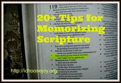 20+ Tips for Memorizing #Scripture #Christianity #Bible