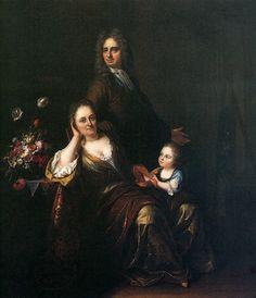 The family by Rachel Ruysch