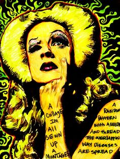 Im all sewn up by inthehhallwaynow on DeviantArt. Hedwig and the Angry Inch, Hedwig, John Cameron Mitchell, JCM