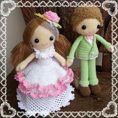 Wedding dolls.