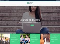 10 Ultimate LMS WordPress Themes to Create Your Online Course Website - Colorlib Online College, Online Work, Learning Websites, Online Library, Training Courses, Online Courses, Wordpress Theme, Workplace, How To Find Out