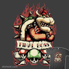 Final Boss #Bowser #SuperMarioBros