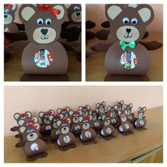 Cute Crafts, Diy Crafts For Kids, Art For Kids, Marsha And The Bear, Market Day Ideas, Bear Party, Egg Art, 4th Birthday Parties, Kindergarten Activities