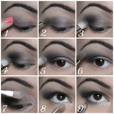 Silver smokey eye tutorial - Makeup By Kailan Marie