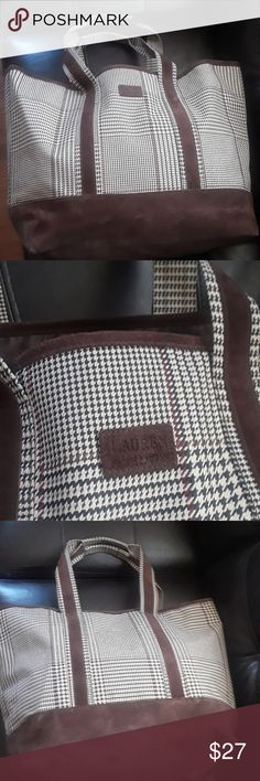 "Lauren Ralph Lauren Bags Lauren Ralph Lauren Bags, color brown, 22""X15""X8"". Lauren Ralph Lauren Bags Totes"