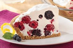 Berry Berry Cool Pie | Snackpicks - Ideas to Snack On