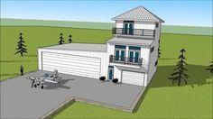 Image result for barn airplane hangar homes