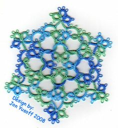 I love this one.  I'm making it now.  http://tatsaway-patterns.blogspot.com/2008/12/quantiesque-snowflake.html