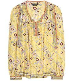 mytheresa.com - Printed silk blouse - Luxury Fashion for Women / Designer clothing, shoes, bags