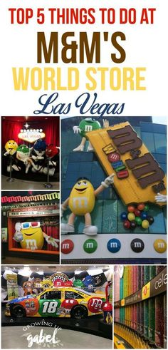 M&M'S World Las Vegas is a family-friendly spot right on the Strip! See a movie, make personalized M&M'S and more! Don't miss this fun Vegas attraction! Las Vegas Shopping, Las Vegas Food, Las Vegas With Kids, Las Vegas Vacation, Vegas Fun, Travel Vegas, Vacation Ideas, Italy Vacation, Las Vegas Outfit