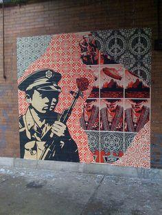 Shephard Fairey - another great street artist