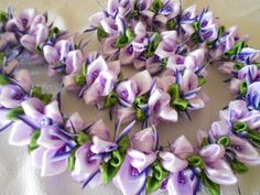 Wild Orchid & Hair ClipCustom Order by AlohaRibbonCrafts on Etsy