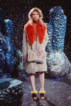 Hannah Weiland's Shrimps presentation was a Space Age fiesta of glitter and faux fur inspired by The Wizard of Oz. [Photo by Courtesy]