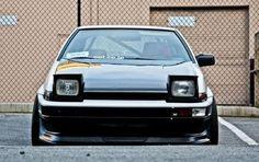 AE86 Blueprint AE86 Classic Toyota Corolla of 1986