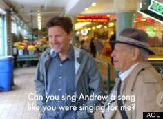 Andrew McCarthy Gets Serenaded At Pike Place Market Breaking Boundaries, Andrew Mccarthy, Pike Place Market, Like You, Singing, Songs, Marketing, Song Books