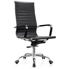 foshan high back executive leather swivel ergonomic office chairs