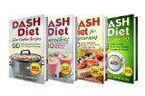 Free Kindle Book -  [Cookbooks & Food & Wine][Free] DASH Diet Bundle: 4 in 1 Boxed Set: DASH DASH Diet for Vegetarians + DASH Diet Smoothies + DASH Diet Slow Cooker Recipes + DASH Diet in 15 minutes