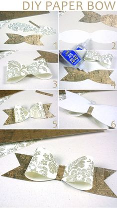 Easy DIY Paper Bow