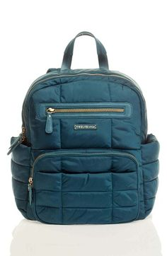 TWELVElittle 'Companion Backpack' Quilted Nylon Diaper Bag available at #Nordstrom