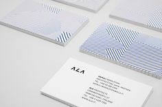 Unique Business Cards Design on the Internet, ALA Architects #businesscards #namecards #printdesign