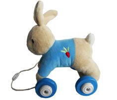 Peter Rabbit Pull along available from John Lewis and independent retailers