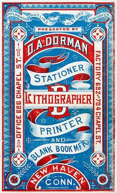 Stationer, Lithographer, Printer & Blank Book Mfr.
