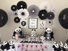 Panda party! Decorations