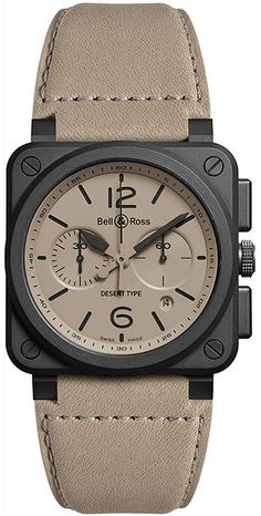 Bell & Ross Aviation BR0394-DESERT-CE | Best Watches For Men