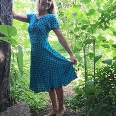 Retroklänning 40-tal, Sofia Blå - Odd-Living.com
