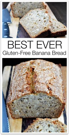 Best EVER Gluten Free Banana Bread: You have to try it to believe it. Truly THE BEST.