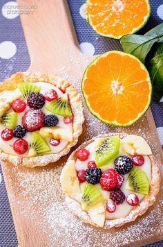 Crostatine frutta e crema bimby