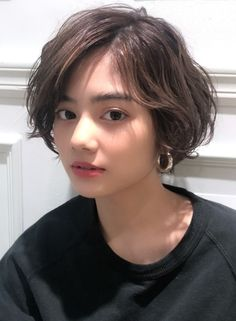 Tomboy Hairstyles, Cute Hairstyles For Short Hair, Girl Short Hair, Pretty Hairstyles, Short Hair Cuts, Short Hair Tomboy, Ulzzang Short Hair, Teen Hairstyles, Shot Hair Styles