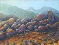 """Katya Coad, Ethereal (Alabama Hills, Lone Pine, CA), 24"""" x 18"""", Acrylic on canvas, $1332.00, go to katyacoad.com and email for purchase info"""