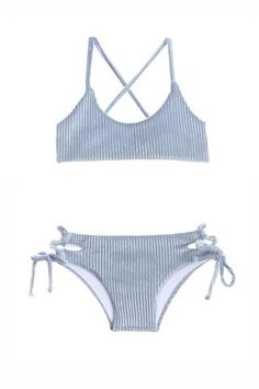 Polyester, Spandex Velvet rib, at its best. Adjustable top and bottom, full coverage. Girls Bathing Suits, Two Piece Swimsuits, These Girls, Two Pieces, Bikini Girls, Summer Time, Bikinis, Swimwear, Swimming