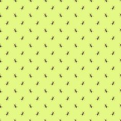 Preppy Ant Chartreuse fabric by littlerhodydesign on Spoonflower - custom fabric