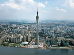 guangzhou - Canton Tower. A tall building with a view? Yes, please.
