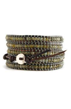 Chan Luu Semiprecious Stone Wrap Bracelet | Nordstrom - StyleSays