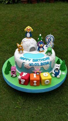 Pororo cake birthday pororo kids girl boys party cake cupcake popcake Cake Birthday, Birthday Parties, Winter Wonderland Theme, Awesome Cakes, Cakes For Boys, Baby Winter, High Tea, Party Cakes, Kids Girls