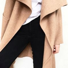Camel trench and basic wear//
