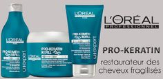 Pro Kératine Refill : la gamme capillaire à la Pro-Kératine par L'Oréal Professionnel    http://www.hairstore.fr/pro-keratine-loreal-professionnel.htm