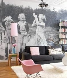 Wow, wow, wow!  I love the black and white with pops of pink!  Cool photo idea!