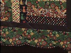 Arte Brasil | Toalha de Mesa com Bordas em Curvas - Eliana Zerbinatti