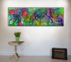 Buy Fluids - 120x40x2 cm - Big Painting XXXL - Large Decorative Abstract, Ready to Hang, Acrylic painting by Soos Tiberiu on Artfinder. Discover thousands of other original paintings, prints, sculptures and photography from independent artists.