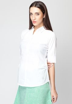 White Shirt For Women Online | Artee Shirt