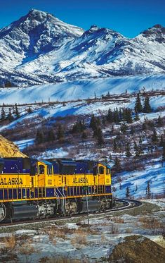 Alaska by train • photo: Andreas Maier on 500px