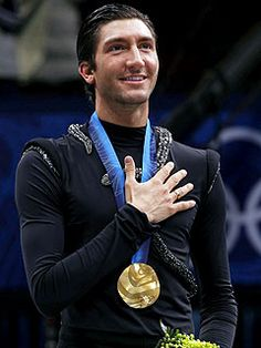 Evan Lysacek~Figure Skater