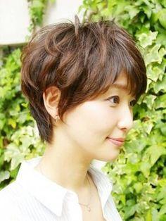 Short Hair Cuts, Short Hair Styles, Haircut For Thick Hair, New Hair, Girl Hairstyles, Pixie, Salons, Bob, Haircuts