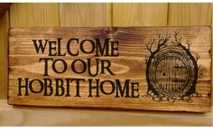 Personalised Hobbit House Lord of the Rings Name Plaque Door Signs Conservatory   eBay