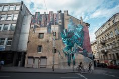 Sepe & Chazme unveil a new mural for Vilnius Street Art Festival in Lithuania